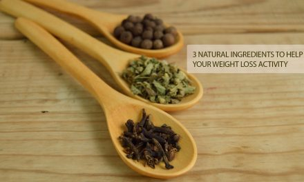 3 Natural Ingredients to Help your Weight Loss Activity