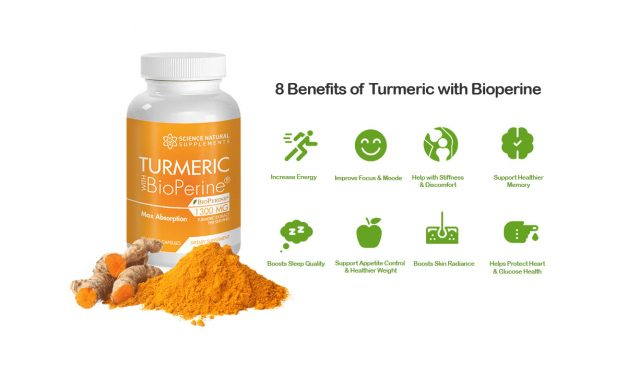 Powerful Immune System Support: Turmeric with Bioperine