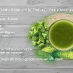 Enjoyable green smoothie that detoxify and fight diseases