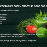 Salsa vegetables green smoothie good for cleansing