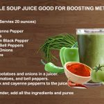 Vegetable Soup Juice good for boosting metabolism